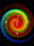 colorfull clock