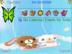 Swinging rabbits animated